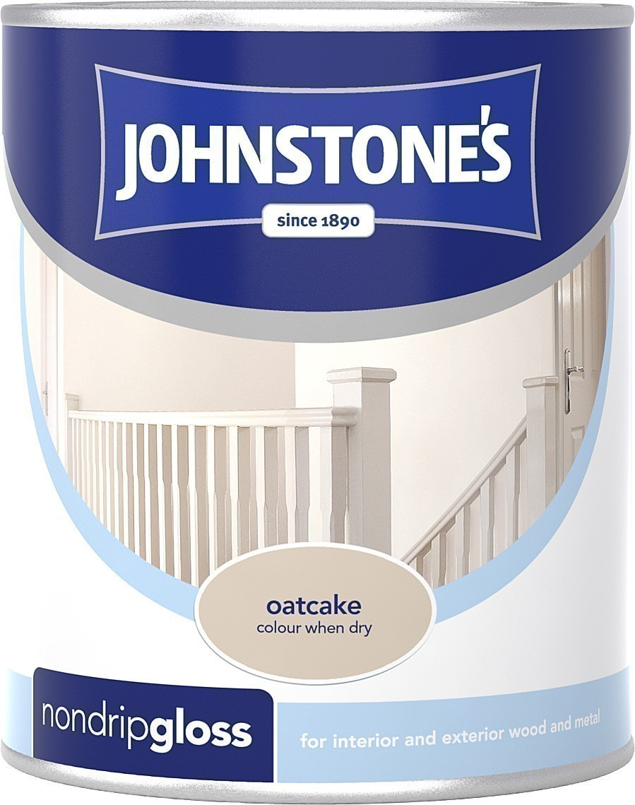Johnstones wood metal non drip gloss paint for interior exterior use ebay - Johnstones exterior paint set ...