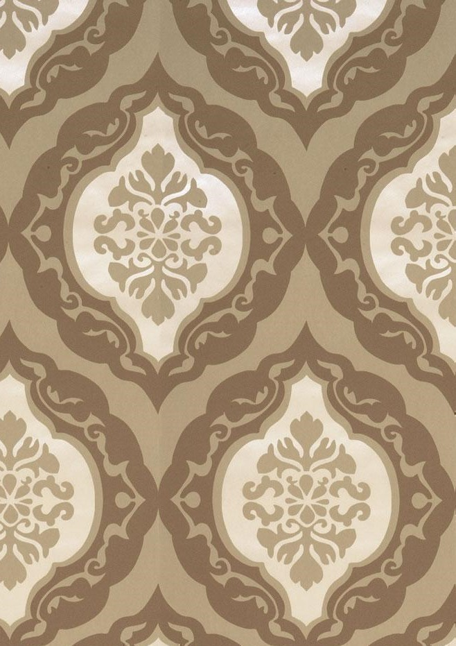 Imagine Cameo Brown Wallpaper by GranDeco IG 66105